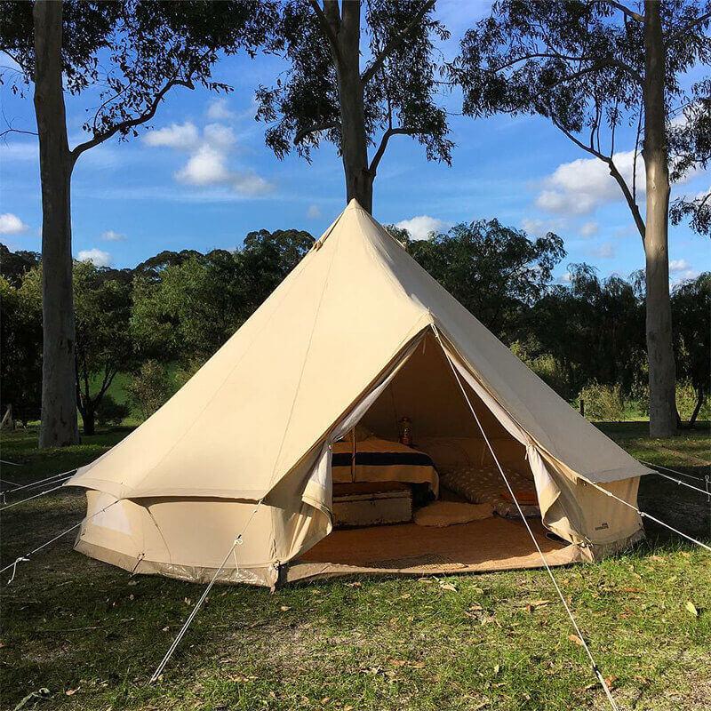 grande tente coton Sibley 500 pour glamping et camping