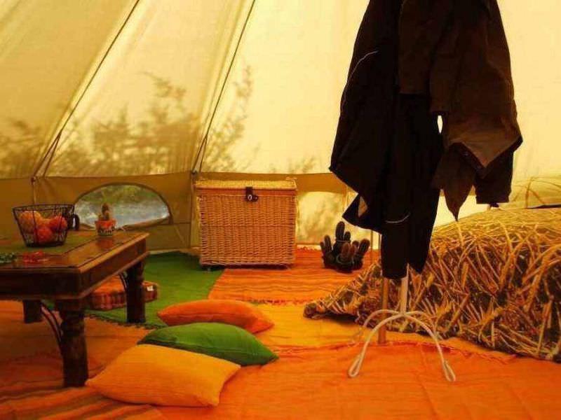 tente camping coton