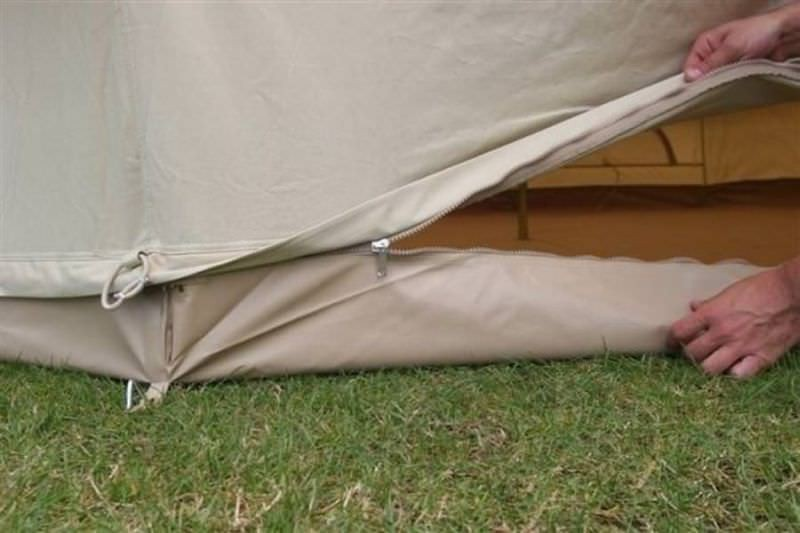 tente camping details
