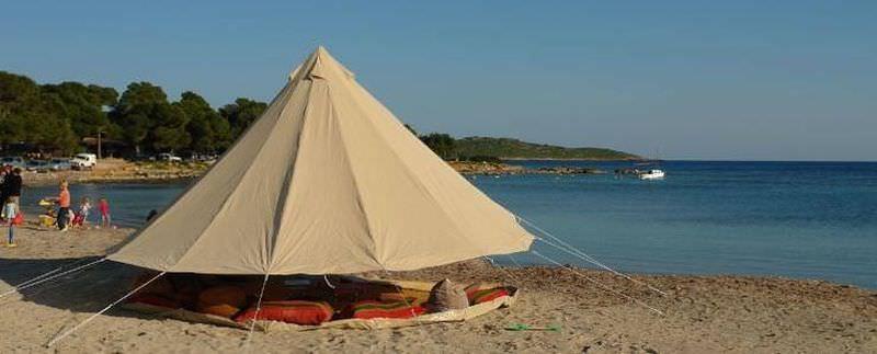 tente 4 places 2 chambres sable
