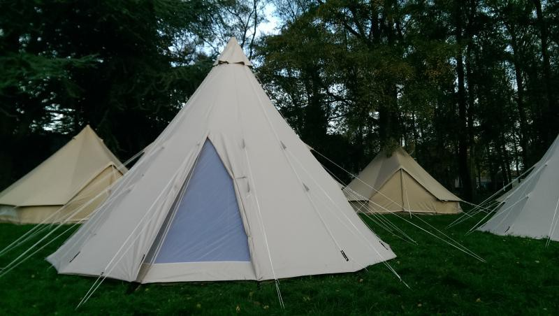 tipi coton 4 places