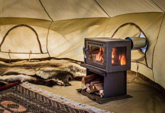 poele de tente camping