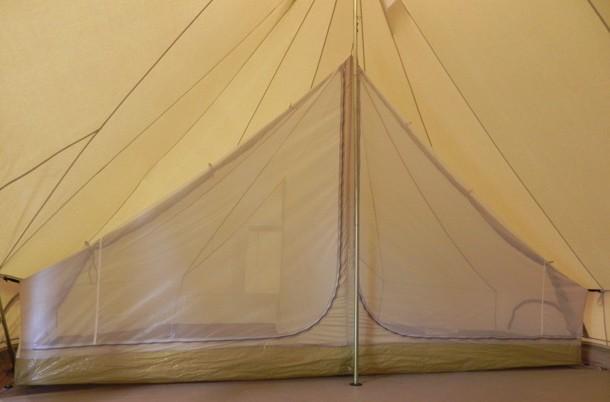 tente de camping moustiquaire