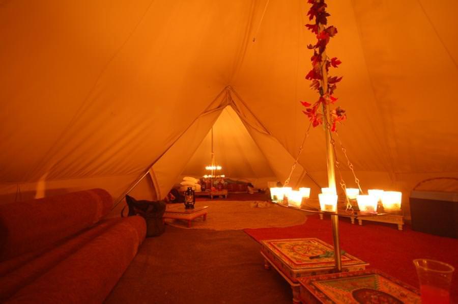 chandeliers dans tentes sibley 600 twin ultimate
