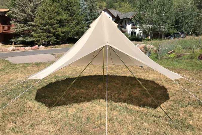 double toit abris bell tent fly pour tente sibley