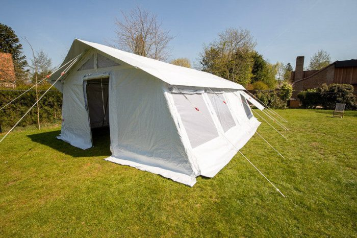 tente modulaire refuge tent system